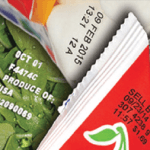 snack packet labels