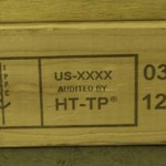 wood coding label