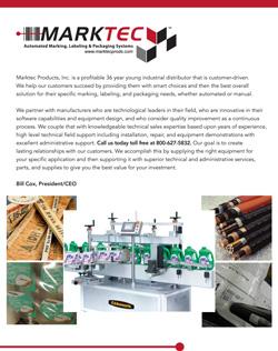 Marktec Full Line Brochure